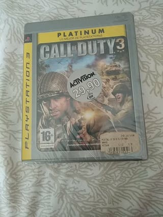 juego ps3 call of duty 3