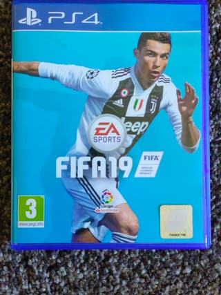 Videojuego FIFA 19 PS4