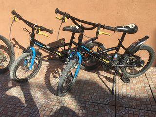 Bicicleta 16 pulgadas infantil niño niña