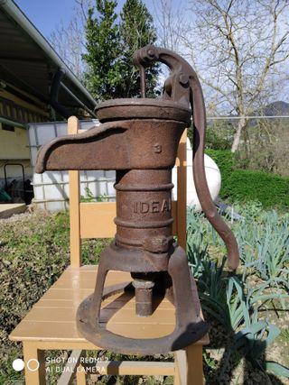 Fuente de hierro colado