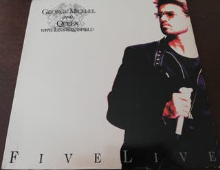 Lp vinilo Queen and George Michael Five Live