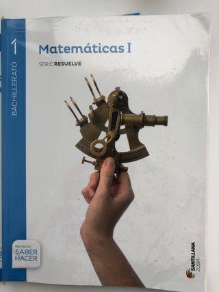 Libro Matemáticas 1.Bach