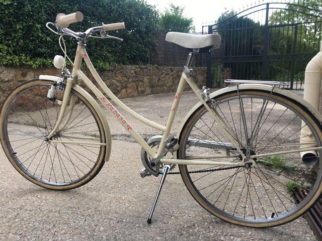 Bicicleta vintage Rabasa Lady años 67-70