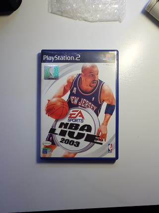 NBA Live 2003 ps2 play 2 PlayStation