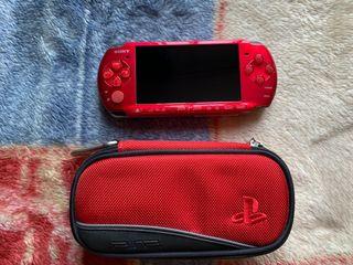 PSP 3000 Roja Sin bateria