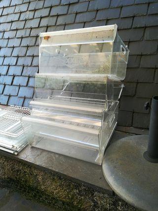 cajones y estanterías para nevera o frigorífico
