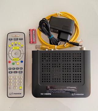 Descodificador Movistar HDTV