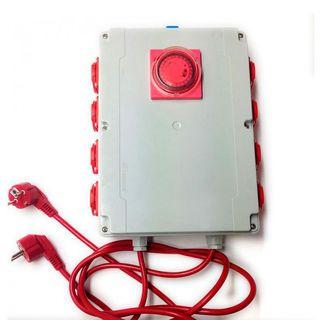 Temporizador PS 8x600W + Calefacción - Davin