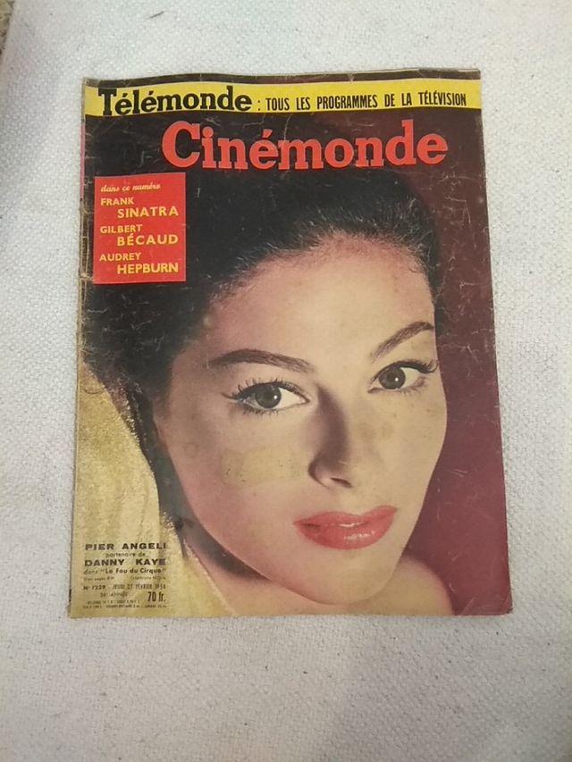 Lote Cinémonde revista francesa cine