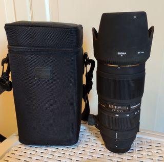 Sigma APO DG 70-200 1:28 II Macro HSM Nikon