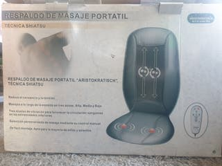 respaldo de masaje portatil tecnica shiatsu