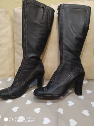 Botas de piel altas pepe Castell