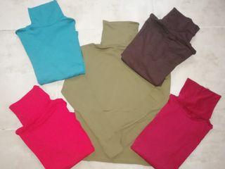 camisetas cuello alto