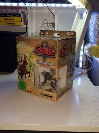 Zelda Twilight Princess Edición Limitada Wii u