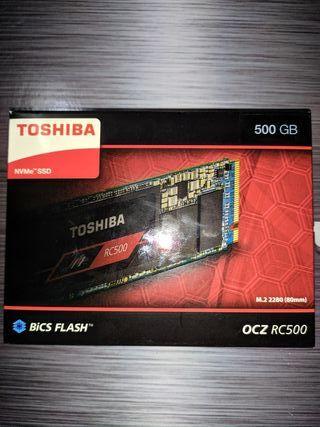 SSD M2 TOSHIBA NVMe 500Gb (PRECINTADO)