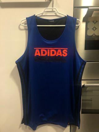 Camiseta deportiva reversible Adidas, L