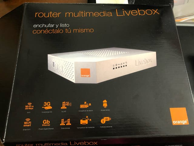 Router livebox