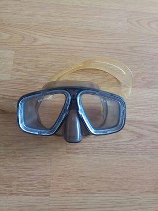Gafas buceo snorkel Safari Sub Safety lens