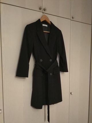 vestido estilo esmoquin