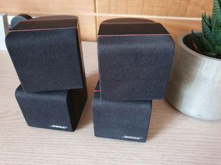 Altavoces BOSE cubos dobles
