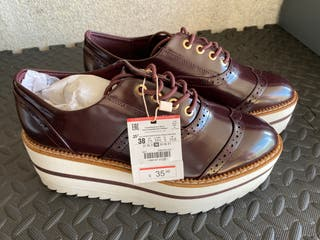 Zapato Stradivarius talla 38