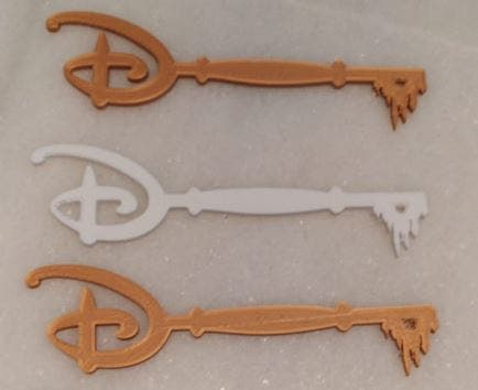 Llave Disney simple