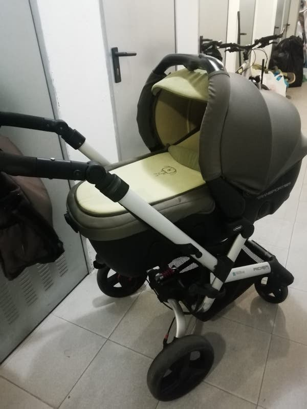 Carro bebé trio jane rider