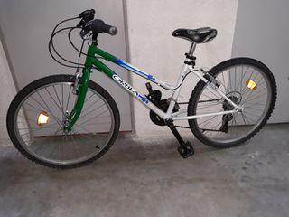 Bicicleta btt orbea de 24 pulgadas