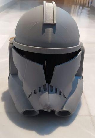 Star Wars casco capitán Rex escala 1:1