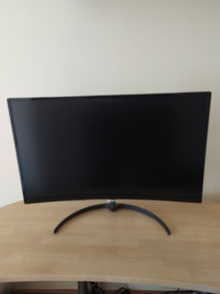 "Pantalla monitor philips 27"" curva"