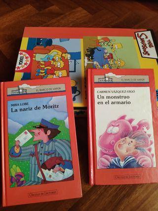 Dos libros y 2 puzzles