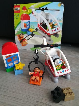 Set Lego Duplo 5794, Equipo Rescate