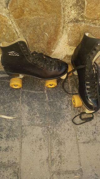 patines de hielo y de 4 ruedas
