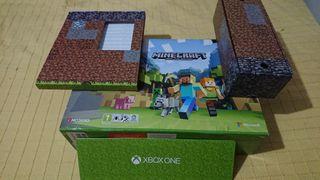 Caja de consola XBOX one s Minecraft