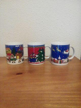 3 tazas desayuno Navidad