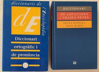 Diccionarios / Diccionaris