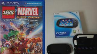 Juego Ps Vita Lego Marvel Super Heroes