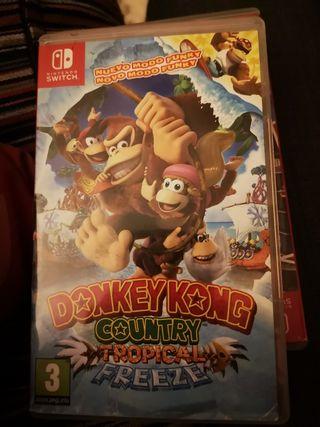 Donkey Kong County Tropical freeze