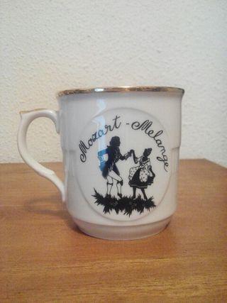 Taza porcelana Austria