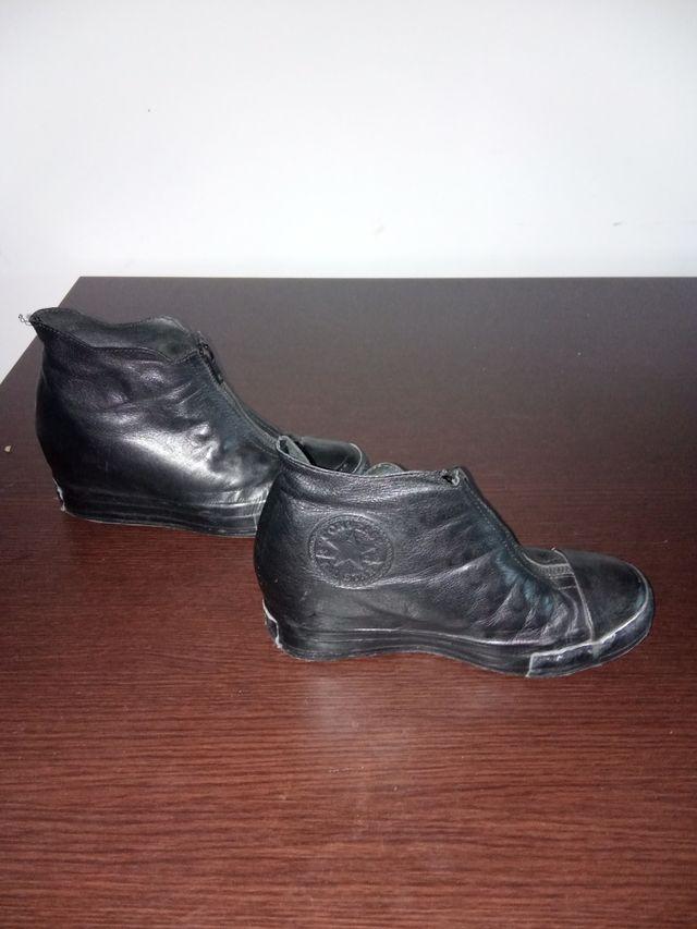 botas de cuero converse