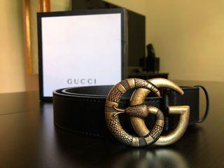 Cinturón Gucci GG Serpiente