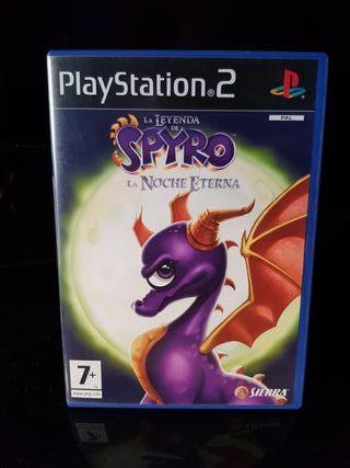 La Leyenda de Spyro, La Noche Eterna Ps2