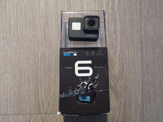 GoPro Hero 6+Cargador+Baterías+Soporte+Accesorios