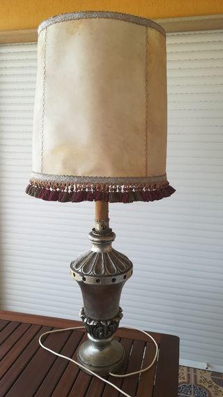 Lámpara vintage de sobremesa años 70