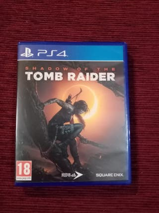 Shadow of the tomb raider ps4 juego