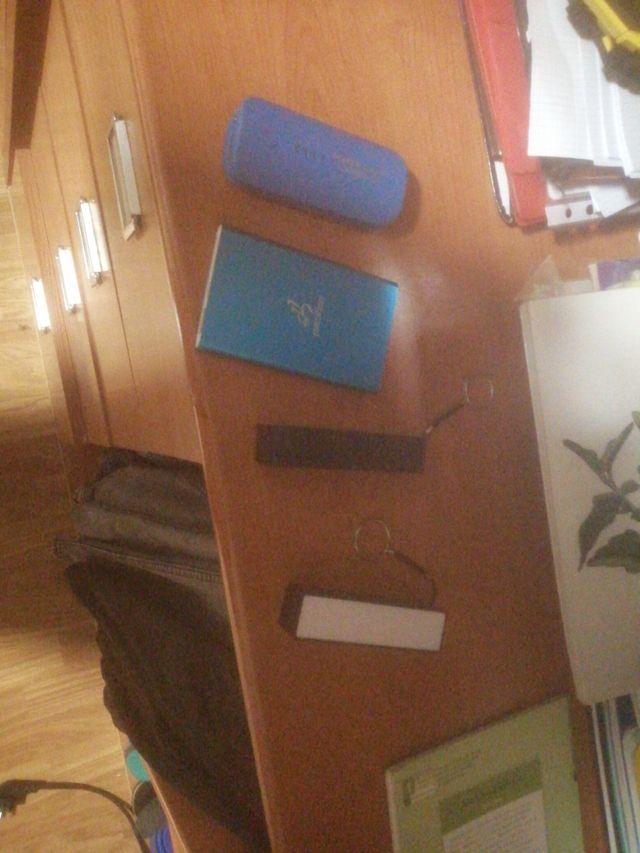 4 baterías portátil pafa movil y tablet