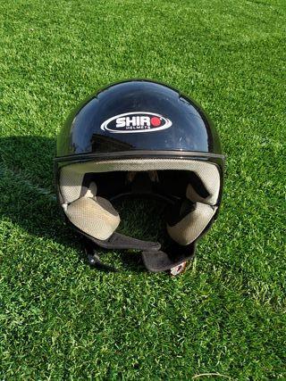 Casco moto Shiro SH-65 VIP talla S