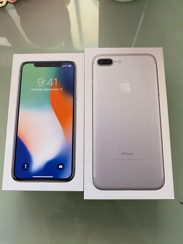 Iphones se venden por separado 450 y 350