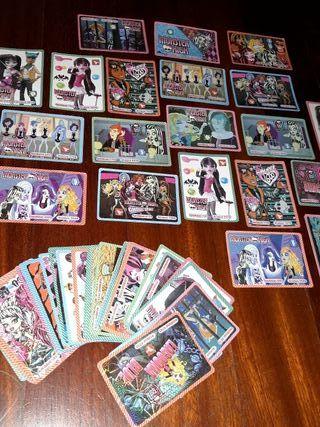 Juego de cartas Monster High colección