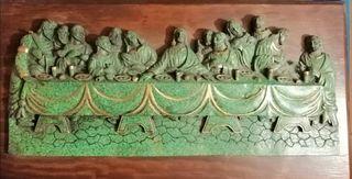 Cuadro Santa Cena antiguo